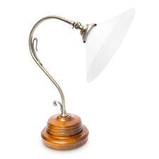 Tischlampe Steampunk ca. 1,6 kg Metall im brüniertem Messing-Design dekorativ