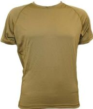 GI PCU level 1 Sekri Lycra T-shirt Sm Reg Coyote Brown Military SFI Short Sleev