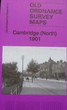 Old Ordnance Survey Detailed Map Cambridge (N) Cambridgeshire 1901 Sheet 40.14