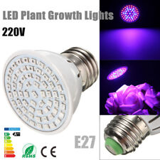 E27 5W 60 LED 2835 SMD Grow Light Bulb Lamp Garden Plant Flowering Hydroponics
