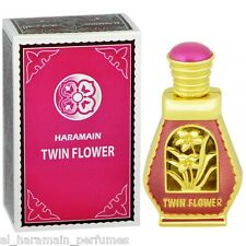 Twin Flower 15ml Attar Oil for Women by Al Haramain - Strawberry, Plum, Floral