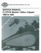 1980-1983 Harley FLT FXR Service Repair Workshop Shop Manual Book NEW 9483-83