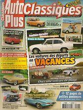 AUTO PLUS CLASSIQUES 4 DOSSIER 15p VACANCES 1936 1990 MEHARI MINI MOKE BUGGY LM1