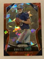 🔥🔥2019 PRIZM DANIEL JONES Red Cracked Ice ROOKIE RC Parallel #302 NY Giants