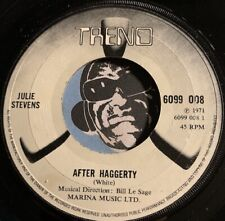 JULIE STEVENS Pop Rock 45 Trend #6099 088 After Haggerty / A Long Way From Home