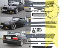 Pare-choc Set Body Kit pour bmw e36 Limo Touring Coupé Cabrio pour M-Paquet + m3