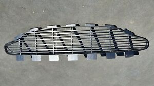 ASTON MARTIN VANQUISH TOP FRONT GRILLE Painted Charcoal 2003 model - GENUINE