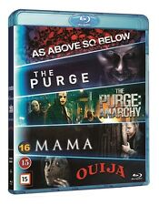 Horror Box (5-Movie Set: As Above So Below, Mama, Purge 1 + 2, Ouija) Blu Ray
