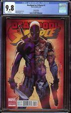Deadpool vs. X-Force # 1 CGC 9.8 White (Marvel, 2014) Variant cover