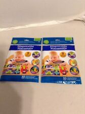 Kids Disposable Placemats 12 X 18 Inches 2 Packs of 10 Each 3 Designs 6 Months+