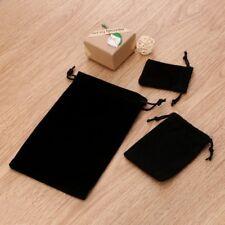 Drawstring Pouch Bag Velvet Wedding Black Gift Bags For Ring Earrings Bracelet