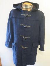 Genuine Gloverall Wool Duffle Duffel Coat Raincoat XL UK 18 Euro 46 Navy Blue