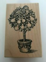 PSX Partridge in a Pear Tree Christmas Rubber Stamp Holidays Card Making G-1890