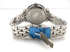 Freeze Men's Stainless Steel White Diamond & Floating Diamonds Watch FZ10135
