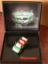 OPEL FROGSTER CABRIOLET CONCEPT CAR 1/43 GREEN NOREV VEHICULE MINIATURE COFFRET