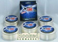 X-Line Fluorocarbon Mainline- 600mtr Spools