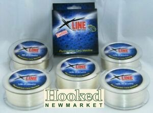 X-Line Fluorocarbon Mainline- 600mtr Spools- NEXT DAY DELIVERY