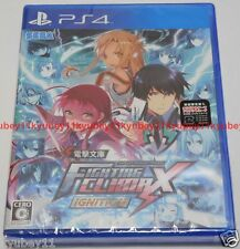 New PS4 Dengeki Bunko FIGHTING CLIMAX IGNITION Japan Japanese F/S PlayStation 4