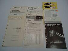 Kodak Booklets lot of 16, Films Photography Negatives Vintage 1950s 1960s