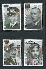 AUSTRALIA 1995 Australian WWII Heroes - 2nd Series Set MNH (SG 1545-1548)
