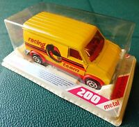 MAJORETTE FOURGON PUB No234 SERIES 200 RACING TEAM. MINT in BLISTERPACK.