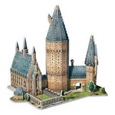 Wrebbit Puzzle Harry Potter 3D Great Hall Hogwarts 850 pieces Giocattolo