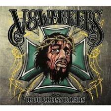 V8 WANKERS - IRON CROSSROADS (DIGIPACK) CD HEAVY METAL HARD ROCK NEW+