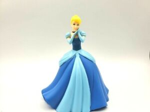 "Disney Cinderella 5.75"" Plastic Coin Bank with Stopper Blip Toys 2012"