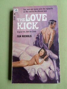 THE LOVE KICK  - FAN NICHOLS -   MACFADDEN  USA P/BACK  - 1970 - CRIME THRILLER