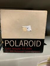 Polaroid Model J66 Electric Eye Land Camera Kit plus Color blue Adapter Kit #660