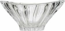 """Vase Crystal Glass Bowl 8 """" Centerpiece Dish Clear Color Bohemian Crystal NEW"""
