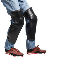 Motorcycle Thick PU Leather Soft Kneepads Sleeve Windproof Wrap Warm Leggings