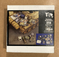 Verlinden 1/35 Middle Eastern War Loot / Modern Stowage [Resin Diorama] 2718