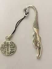 York Silver Penny Coin WC6 Made From English Pewter On  MERMAID Bookmark