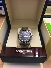 Longines Hydroconquest ( Hydro Conquest ) Mens Watch 44mm  Black Dial / Divers /