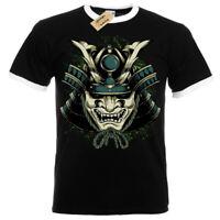 Bushido Spirit T-Shirt Tiger japanese Mens RInger