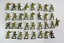 Vintage AIRFIX WW2 British Commandos Plastic Toy Soldiers 1:32