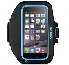 Belkin Armband for iPhone 6 6s Sport-fit Plus Key Pouch Black Topaz F8w501bt03