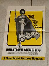 original DARKTOWN STRUTTERS pressbook Trina Parks Roger E. Mosley