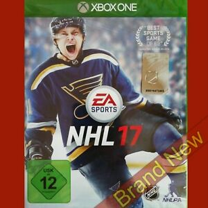 NHL 17 - Xbox ONE ~PEGI 12+ Import - Game in English - Brand New & Sealed!