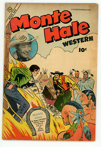 JERRY WEIST ESTATE: MONTE HALE WESTERN #83 & GUNMASTER #4 (Charlton 1955-65)