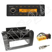 Continental TR7412UB-OR Radio + Mazda3 (Typ BK) Blende schwarz + ISO Adapter Set
