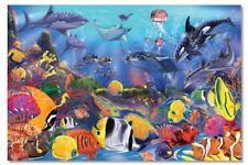 Kids Puzzles - Underwater 48 Piece Floor Puzzle 10427 Melissa & Doug Gift
