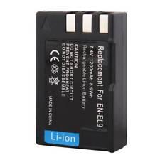 1200mAh EN-EL9 Rechargeable Battery for Nikon D40X D60 D3000 D5000 PM106 UK NEW