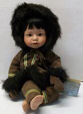 Eskimo Porcelain Doll Danbury Mint 1992 Patricia Wall
