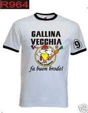T-shirt VALENTINO ROSSI gallina vecchia campione 9 moto