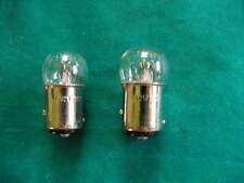 2  REAR LIGHT /BRAKE LIGHT BULBS 6V 21W  6 volt stop n tail rearlight bulb x 2