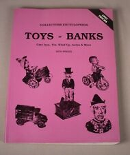Antique Toys Reference Book Price Guide Cast iron Tin banks  Cars Wind ups etc.