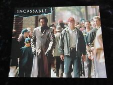 Unbreakable lobby cards Bruce Willis, Samuel L. Jackson French set of 8 stills