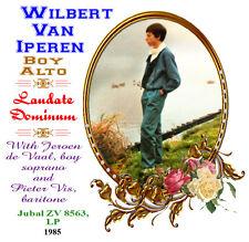Wilbert van Iperen - Boy Soprano - Laudate Dominum - 1985